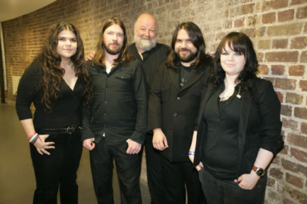Robert Kirby with The Magic Numbers at The Roundhouse, London